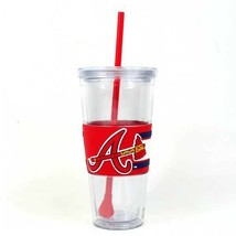 Atlanta Braves 22oz Straw Tumbler - MLB - $10.66