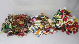 Large LOT 430+ Embroidery Floss Thread DMC Prism NEW & Used Sewing Crafts Colors - $73.03