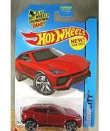 2015 Hot Wheels #23 HW City-Street Power LAMBORGHINI URUS Red Variant w/... - $8.50