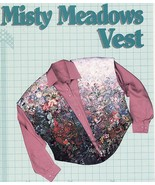 Misses Patchwork Quilting Misty Meadows Showstopping Vest Sew Pattern 4-22 - $11.99