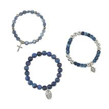 Religious 3-Piece Stretch Bracelet Set - $19.99