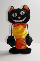 Dan Dee Collector's Choice Halloween Black Cat Trick Or Treat Lighted An... - €17,37 EUR