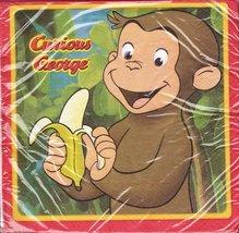 Curious George Large Napkins (16ct) - $11.64