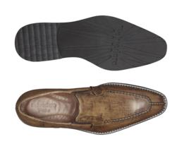 Belvedere Pietro Ostrich Italian Calf Slip On Dress Shoe Antique Almond... - €336,55 EUR