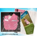 Guardian Gear Dog Rain Coat Jacket Pink Various Sizes Hoodie Pocket - $11.99