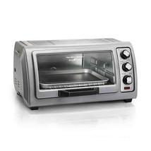 Hamilton Beach Easy Reach 6-Slice Toaster Oven with Roll-Top Door - $69.29