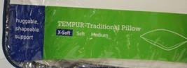 Tempur Pedic Standard Size Traditional Extra Soft Pillow image 2