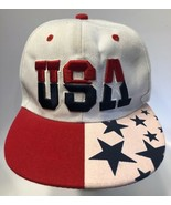 Team USA Olympic Baseball Hat 3D Red/White/Blue Logo Snapback Collectors... - $14.69