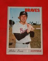 1970 Topps Baseball Card #367 Mike Lum - $0.98