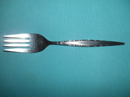 "8 5/8"" Stainless, Med Cold Meat Serving Fork, Community/Oneida, 1968 Venetia Pat - $9.99"