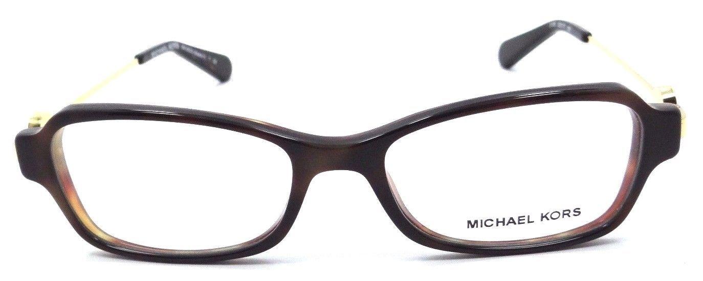 New Michael Kors Rx Eyeglasses Frames MK 8023 3135 Abela V 52x17 Tortoise / Gold