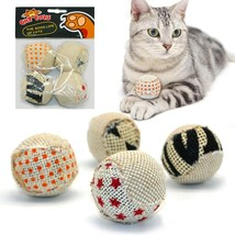 PetArtist® 4pc/Set Ball Cat Toy Interactive Cat Toys Play Chewing Rattle... - $6.38