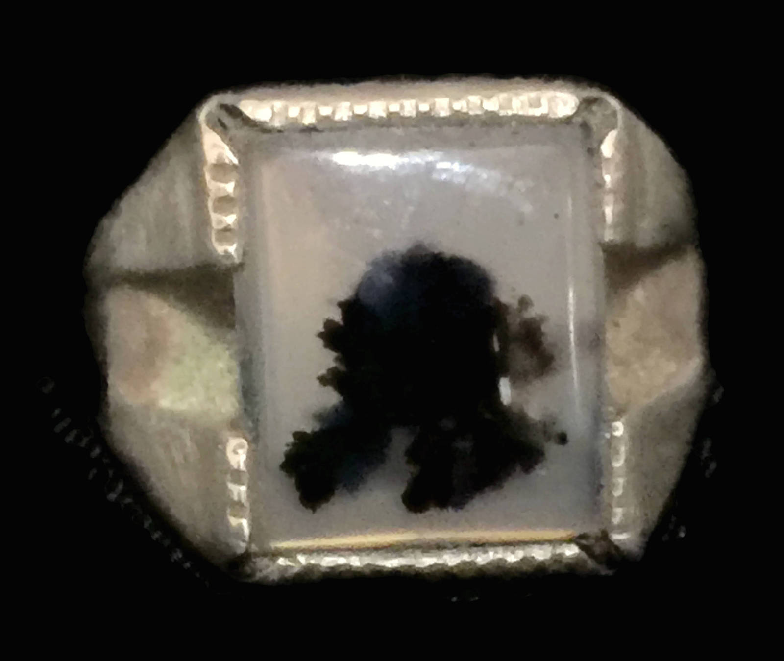 9ed809326 Vintage Agate Sterling Silver Ring Size 5.5 and 50 similar items