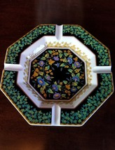 Rosenthal Versace Gold Ivy Ash Tray--Larger Size 9 inch - $295.00