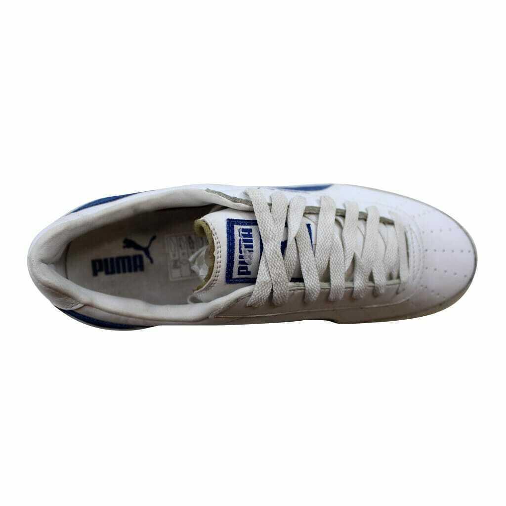 Puma Trimm Quick II 2 White/Team New Royal 341745 04 Men's Size 8.5