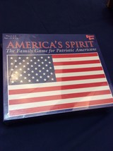 AMERICA'S SPIRIT BOARD GAME Patriotic Family Trivia Board Game - ue - $8.91
