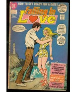 FALLING IN LOVE #129 1972-DC ROMANCE COMICS-DATE READY G - $18.62