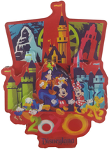 Disneyland Magnet - 2020 Mickey and Friends - $46.88