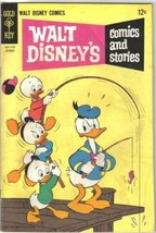 Walt Disney's Comics and Stories Comic Book #325 Gold Key 1968 FINE- - $7.61