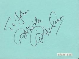 Brian Rix Signed Vintage Album Page - $49.49