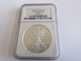 2008-W Eagle Dollar , NGC MS 70 Early Releases - $125.00