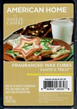 Santas Treat American Home Yankee Candle Fragranced Wax Cubes Tarts - $3.50