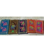 10 Pcs Indian Embroidered Work Mobile christmas GIFT Purse Best Hand Bag... - $21.29