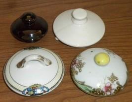 4 Vintage Sugar Bowl ~ Small Teapot Lids  Box XX - $8.14