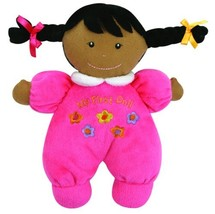 Stephan Baby Ultra Soft Plush My First Doll with Dark Complexion and Bla... - $13.11