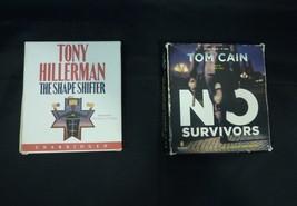 Lot of 2 Detective Fiction Audio Books The Shape Shifter and No Survivors  - $16.05