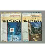 2 HARDY BOYS BOOKS   PB  FRANKLIN W DIXON         NEAR  MINT  1ST ED. MI... - $12.64