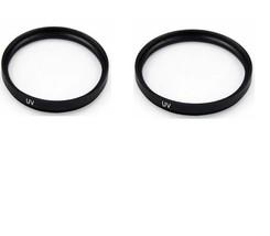 2X UV Filters For Sony DCR-TRV250 DCR-TRV260 DCR-TRV280 HXR-MC1500 HXR-M... - $10.40