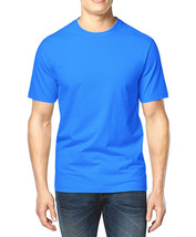NEW MENS CLUB ROOM CREW NECK BLUE SKIES SHORT SLEEVE COTTON T SHIRT TEE S - $8.99