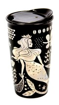 Starbucks Siren Golden Mermaid  Double Wall Traveler/12 fl oz - $32.95