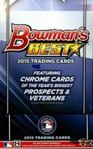 2015 Bowman's Best Baseball Hobby Box Mike Trout Francisco Lindor Pujols Auto - $309.99