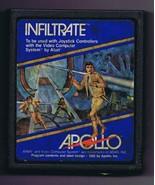 ORIGINAL Vintage TESTED 1981 Atari 2600 Infiltrate Game Cartridge - $13.99