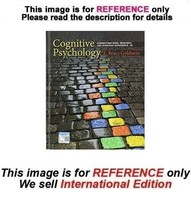 Cognitive Psychology: Connecting Mind, Research, Everyday Exp Papercover... - $59.90