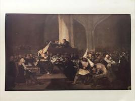 1951 Art Print The Tribunal of the Inquisition Francisco Goya Spanish Pl... - $12.86