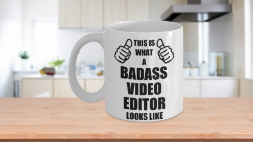 Funny Gifts For Video Editor Husband Hubby Dad Mom Wife Wifey Birthday Fathers M