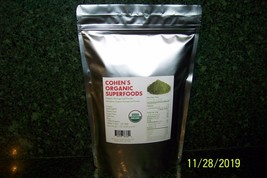 ORGANIC RAW MORINGA LEAF POWDER 100% USDA.   - 1 lb.  oleifera - $19.00