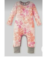 Burt's Bees Baby Girls Market Miracles Jumpsuit Size 3-6M NWT - $14.84