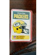 1987 As Fact Paquet Angleterre Vert Bay Packers Scellé Lot De 33 Wright ... - $64.90