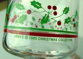 Arbys Arby's Christmas Collection 1985 Glass Holiday Stemware   Vintage image 4