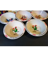 8 Vintage Kelloggs Cereal Bowls New 1995 4 breakfast cups tony tiger sna... - $64.35