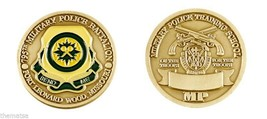 ARMY FORT LEONARD WOOD MP MILITARY POLICE TRAINING SCHOOL CHALLENGE COIN - $16.24