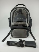 SONY Camera Backpack LCS-VA60 Multi-Function Detachable Bottom Handycam ... - $24.74