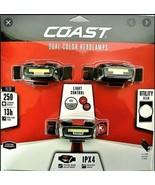 Coast FL13 Dual Color Headlamps, 3 Pack, 250 Lumen ,13 Hr Max, Weather P... - $27.95