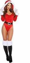 Dreamgirl Père Noël Helper Body Sexy Adulte Femmes Déguisement Halloween 11975 - $33.48