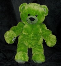 "18"" BUILD A BEAR MARVEL AVENGERS HULK GREEN TEDDY STUFFED ANIMAL PLUSH T... - $28.05"