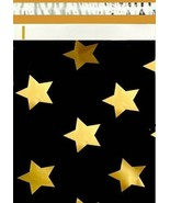 1-1000 19x24 ( Black Gold Stars ) Poly Mailer Shipping Bags Fast Shipping - $1.29+